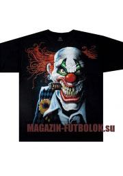 футболка с клоуном - joker clown