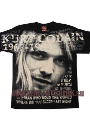 Футболки Kurt Cobain Total Print