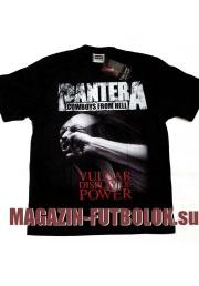 футболки pantera stronger than all