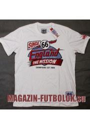 футболка сборной англии england one mission