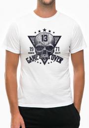 Футболка Game Over Skull 1971