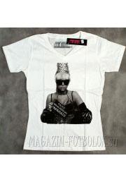 женская футболка lady gaga