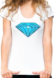 Женская футболка Diamond