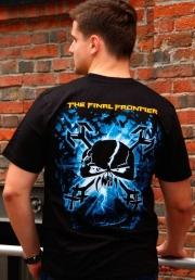 футболка iron maiden final frontier monster