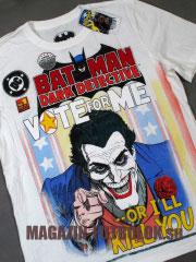 joker футболка vote for me or