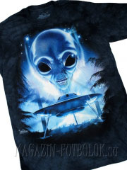 just visiting - футболка со сверхъестественным