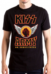 Футболка Kiss Army no Substitutes