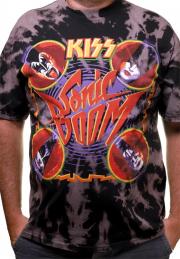 Футболка Kiss Sonic Boom tie dye