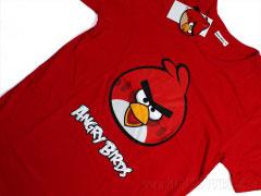 красная футболка энгри бердз