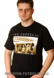 футболка с принтом led zeppelin airplan