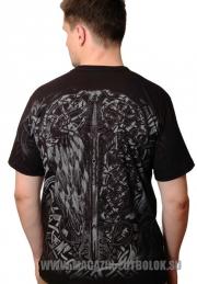 футболка герб россии с орлом