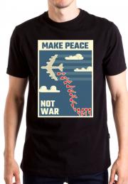Футболка Make Peace Not War Poster