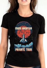 Женская футболка Mars Travel