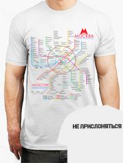 футболка метро москва