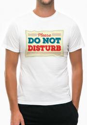 футболка please dont disturb