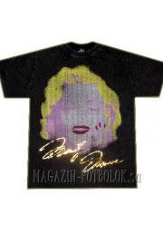 pop art футболка marilyn monroe