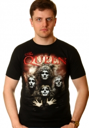 Queen футболка с рок символикой