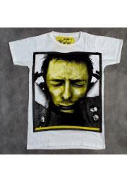 radiohead футболка с tome yorke
