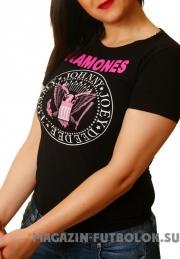 Футболка Ramones для девушек