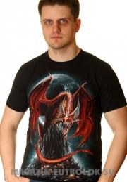 футболка red dragon