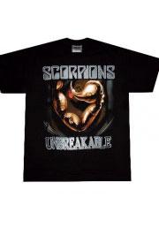 scorpions unbreakable футболка с логотипами групп