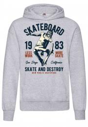 Худи Skateboard 1983 White Hooodie
