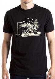 Женская футболка Skelet Fishing