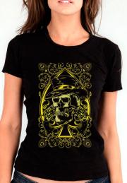Футболка Skull 2 Revolvers Ladys