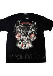 Skull Cards Dice футболка с татуировками