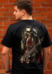 футболка с гитарой - крестом