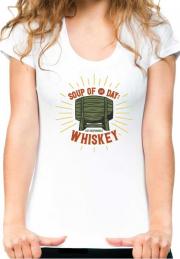 Футболка Soup Day Whiskey Girls White