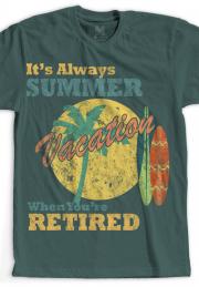 футболка summer vocation