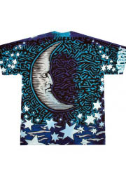 sun moon - яркие футболки liquid blue