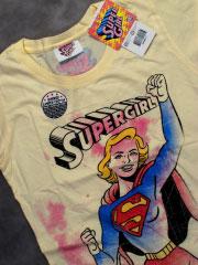 красивая майка supergirl