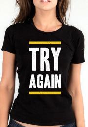 Футболка Try Again Girls