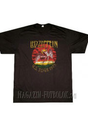 винтажная футболка led zeppelin us 1975