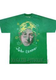 витнажная футболка john lennon