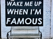 Постер Wake Me Up Famous Poster