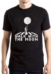 Футболка Walk With Moon