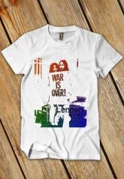футболка war is over на заказ