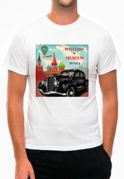 футболка welcome to moscow auto