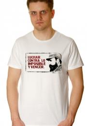 Футболка Fidel Luchar Contra - ПОД ЗАКАЗ