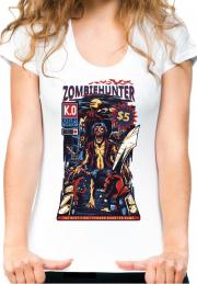 женская футболка zombie hunter
