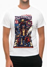 футболка zombie hunter