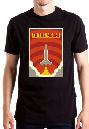 футболка to the moon