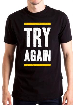 футболка try again