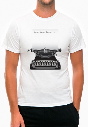 футболка typewriter