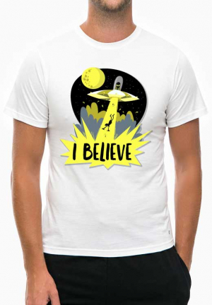 футболка ufo yellow ray light