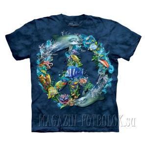 underwater peacewk - живые футболки 3d