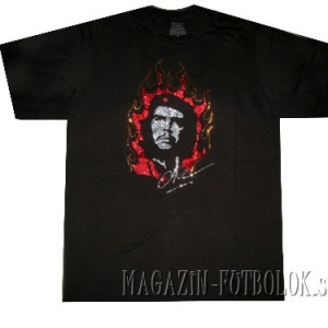 винтажная футболка che guevara стразы